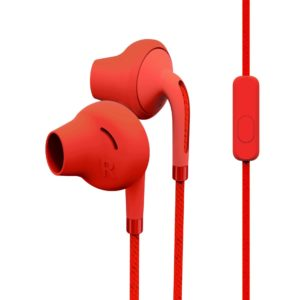 Earphones Style 2+ Raspberry