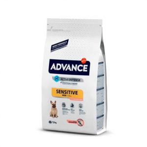 ADVANCE Adult Mini Sensitive Salmon y Arroz : .Peso - 1