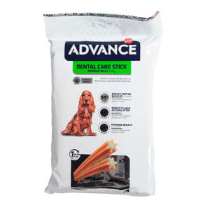 Advance Dental Care Stick Snack para perros : .Promociones - 7 Sticks - 180g
