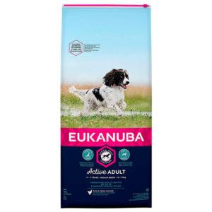 Eukanuba Adult Medium Mantenimiento Peso - 2 x 12kg